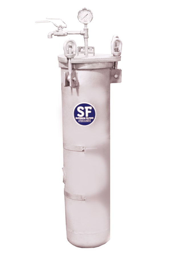 Superior Filter 8-Inch Stainless Steel Housing